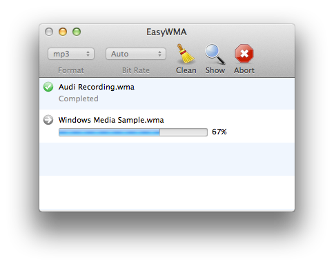 EasyWMA for Mac picture