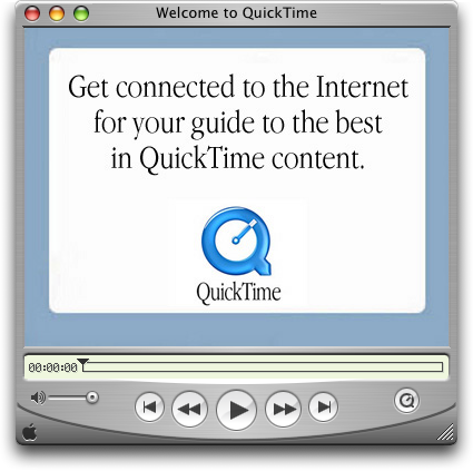Apple QuickTime for Mac picture