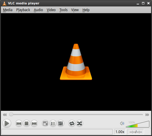 VLC media player for Linux picture