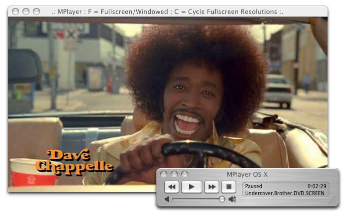 MPlayer for Mac picture