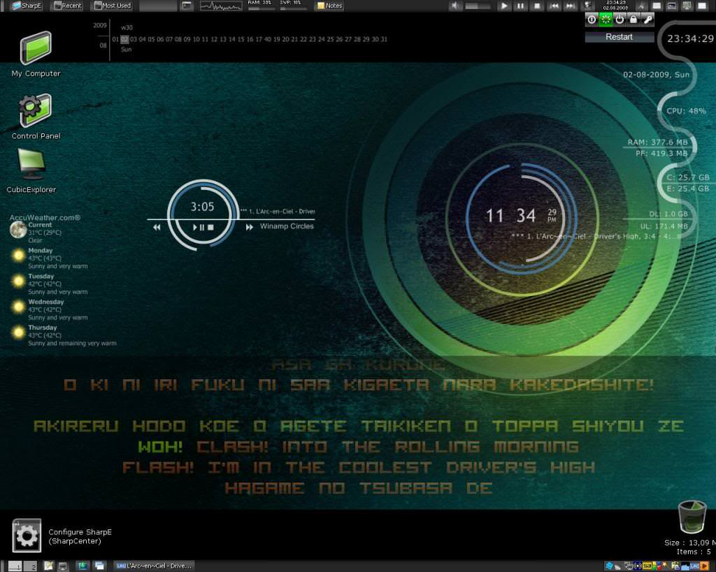 Rainmeter picture