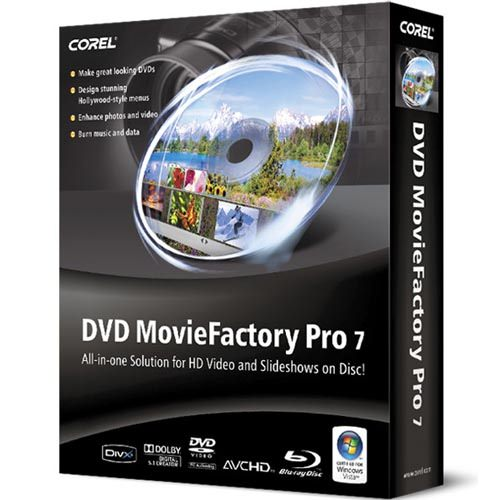Corel DVD MovieFactory picture or screenshot