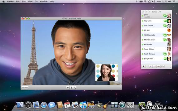 Apple iChat picture