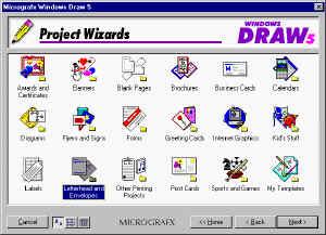 Micrografix Windows Draw picture or screenshot