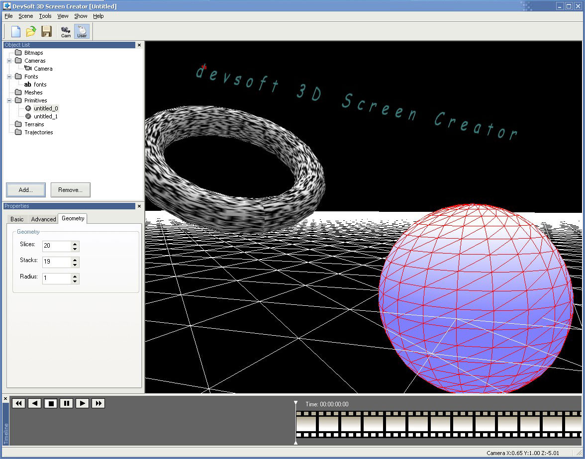 3D Screen Creator picture or screenshot