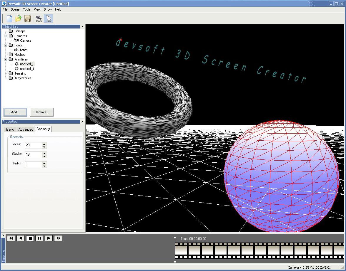 3D Screen Creator picture or screenshot