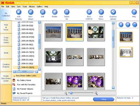 Kodak EasyShare picture or screenshot