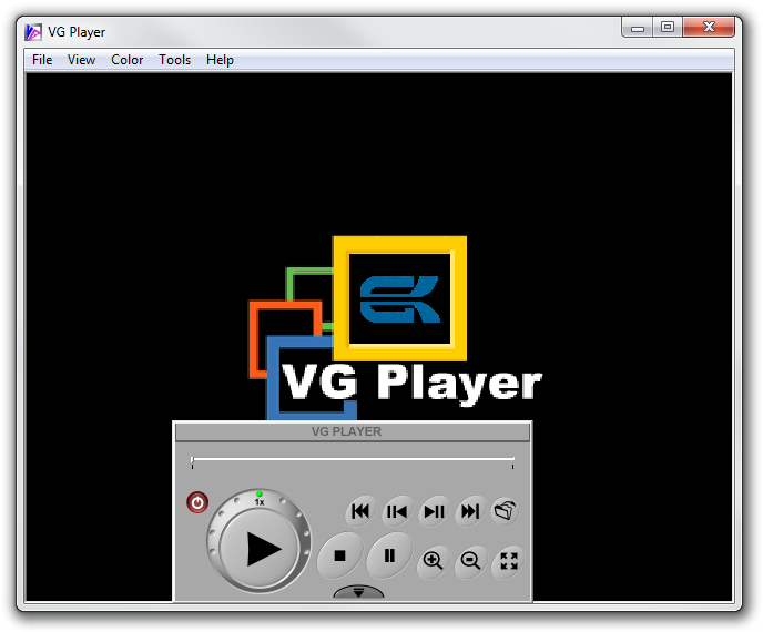 VGplayer picture or screenshot