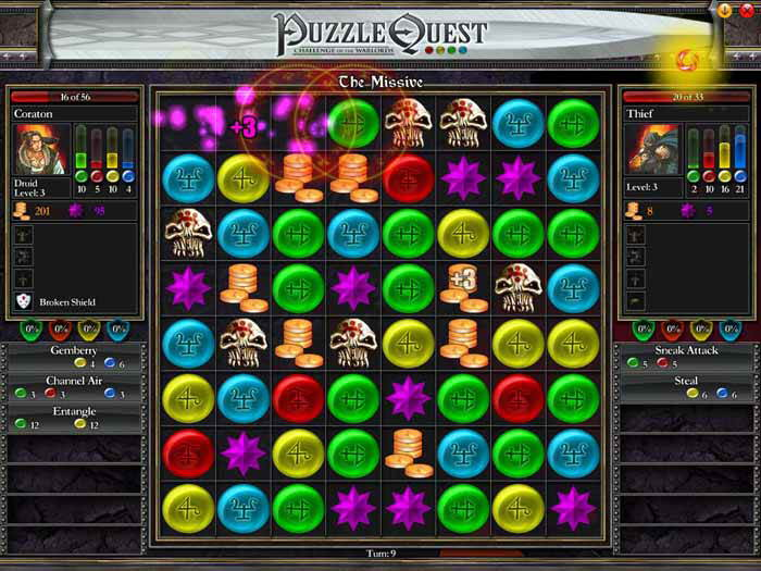 Puzzle Quest: Challenge of the Warlords picture