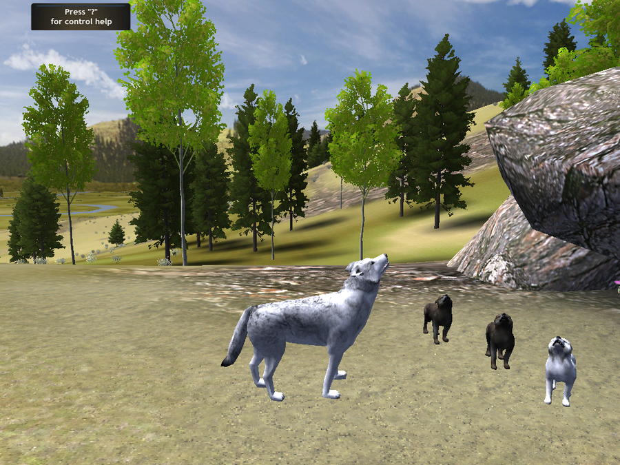 WolfQuest picture or screenshot