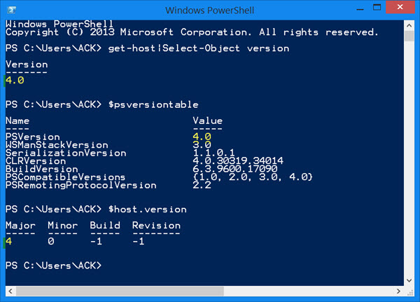 Windows PowerShell picture