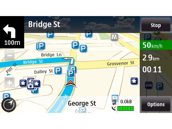 Nokia (Ovi) Maps picture or screenshot