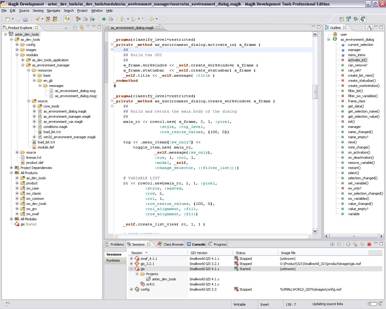 Magik Development Tools picture or screenshot
