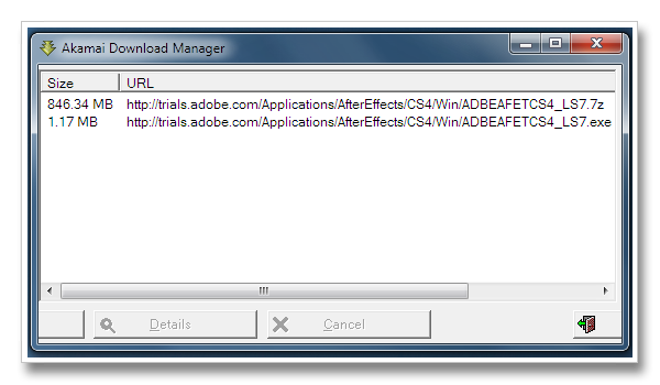 Akamai Download Manager picture or screenshot