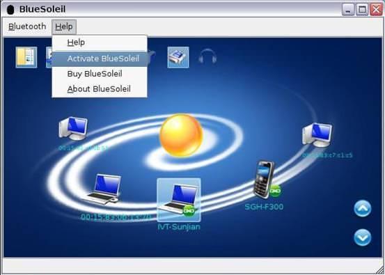 BlueSoleil picture or screenshot