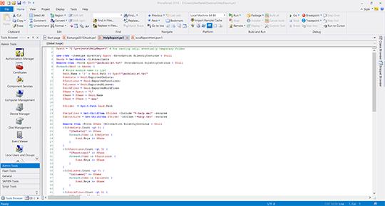 PrimalScript picture or screenshot