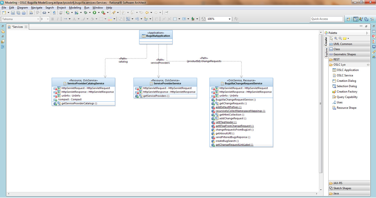 IBM Rational Software Architect picture
