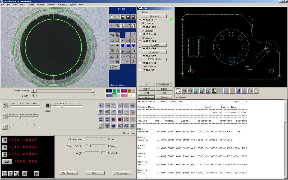 MeasureMind 3D MultiSensor picture or screenshot