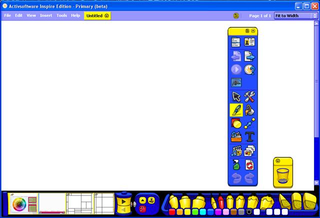 ActivPrimary (ActivInspire) picture or screenshot