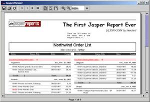 JasperReports picture or screenshot