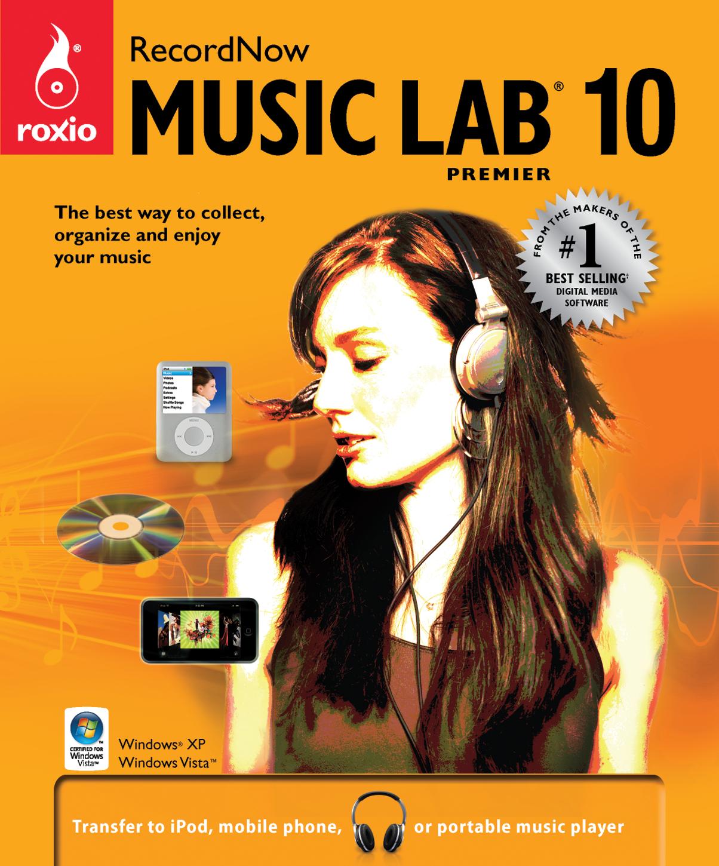 Roxio RecordNow Music Lab picture or screenshot