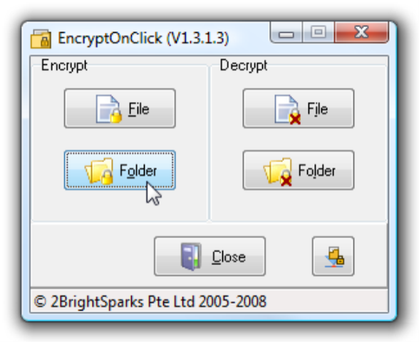 EncryptOnClick picture