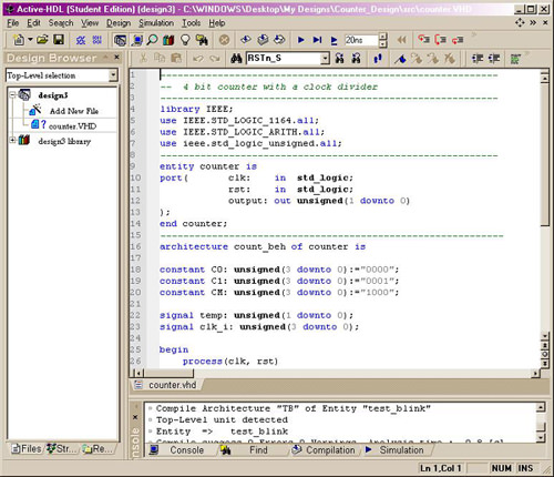 Active-VHDL picture or screenshot