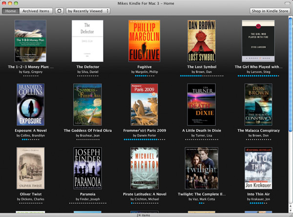 Amazon Kindle for Mac picture