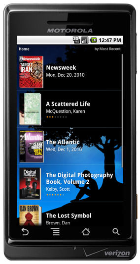 Amazon Kindle for Android picture