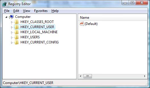 Windows Registry Editor picture