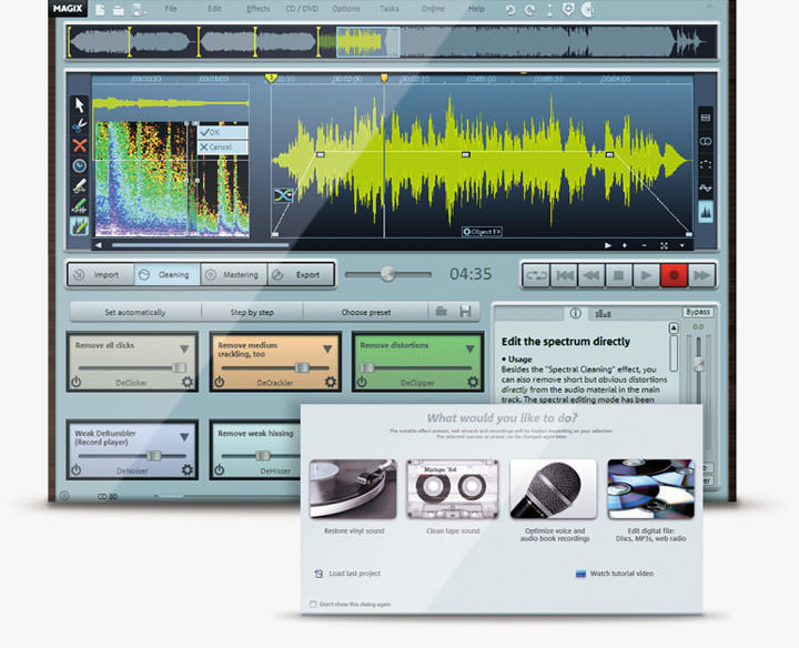 MAGIX Audio Cleaning Lab picture or screenshot