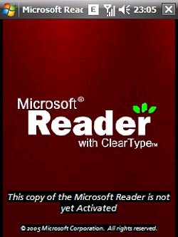 Microsoft Reader for Windows Mobile picture