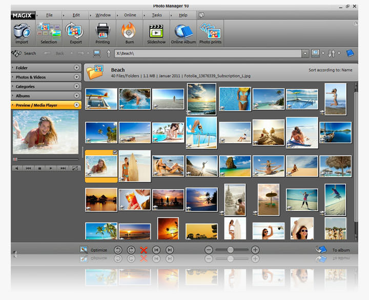 Magix Photo Manager picture or screenshot