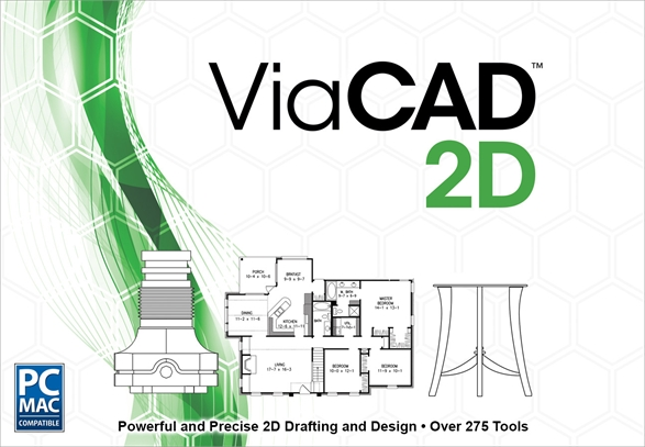 File Extension V2d Viacad 2d Drawing File