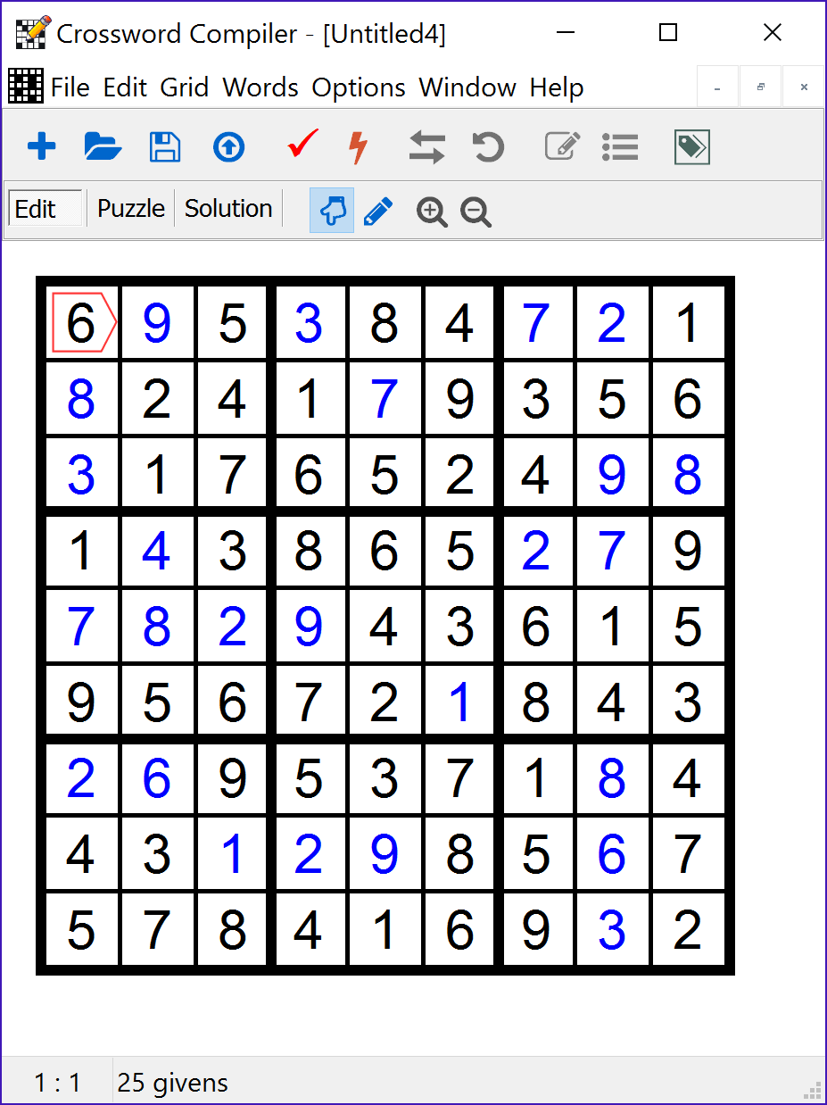 Crossword Compiler picture