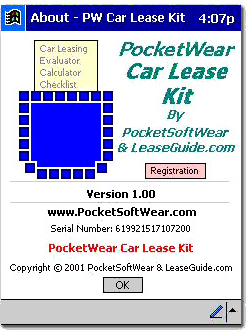 PocketWear Car Lease Kit picture