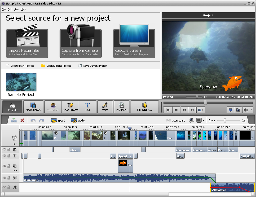 AVS Video Editor picture or screenshot
