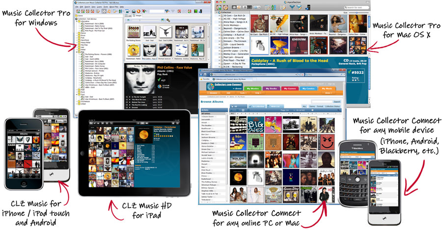 Music Collector picture or screenshot