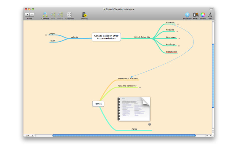 MindNode for Mac picture