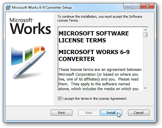 Microsoft works 6 9 file converter file extensions - Works to office converter ...