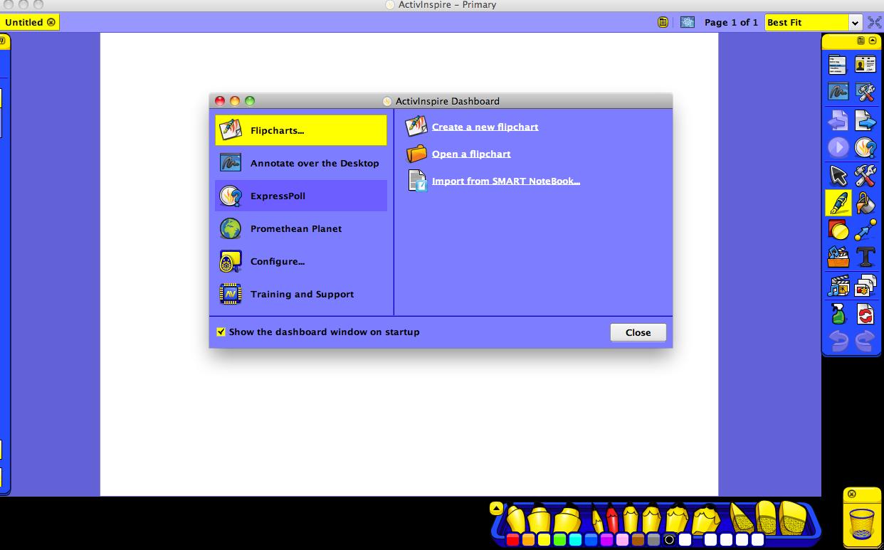 ActivInspire picture or screenshot