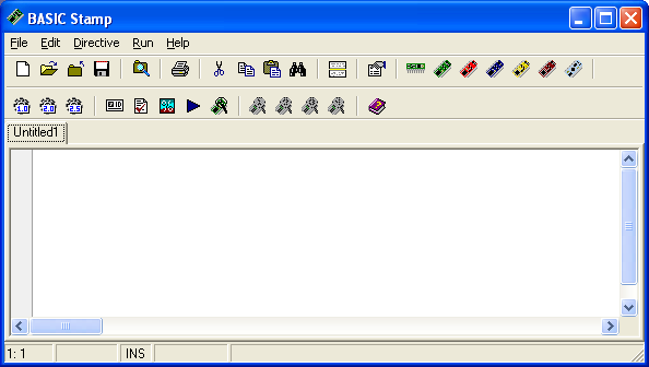 BASIC Stamp Windows Editor picture or screenshot
