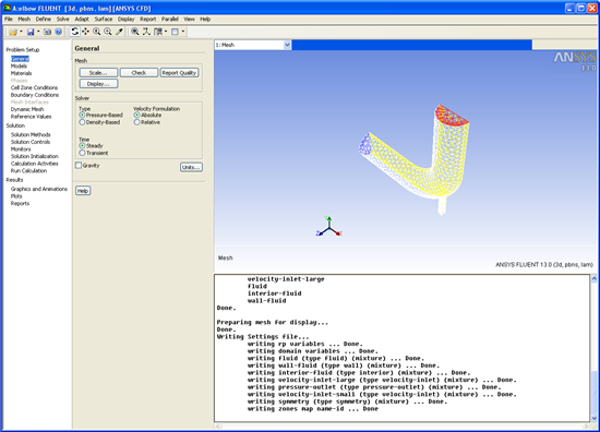 ANSYS Workbench platform picture or screenshot