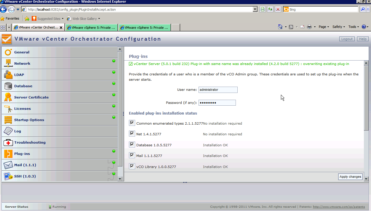 VMware vCenter Orchestrator picture or screenshot
