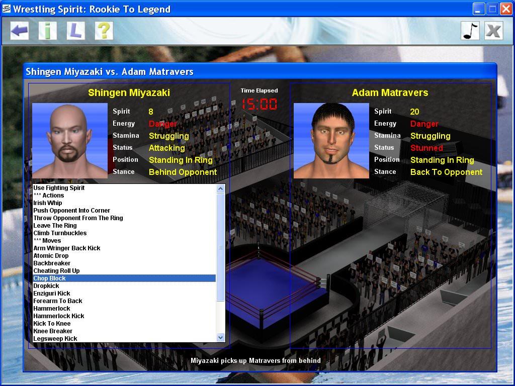 Wrestling Spirit picture or screenshot
