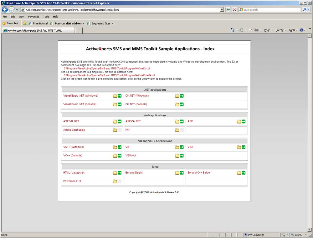 ActiveXperts SMS & MMS Toolkit picture
