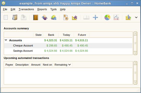 HomeBank picture or screenshot