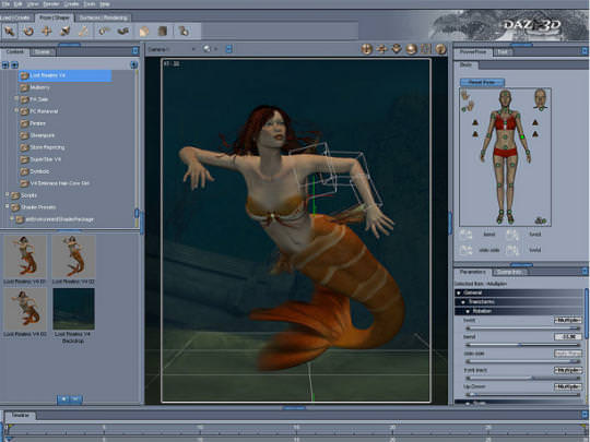 DAZ Studio for Mac picture or screenshot