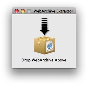 WebArchive Extractor picture