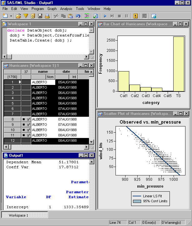 SAS/IML Studio picture or screenshot